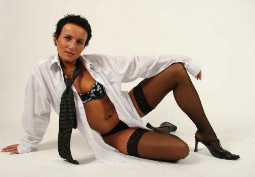 Une secrétaire très sexy !
